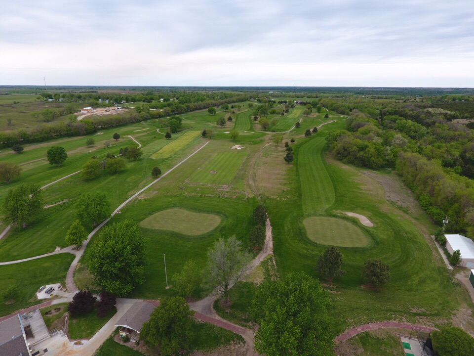 Golf Course - Drone